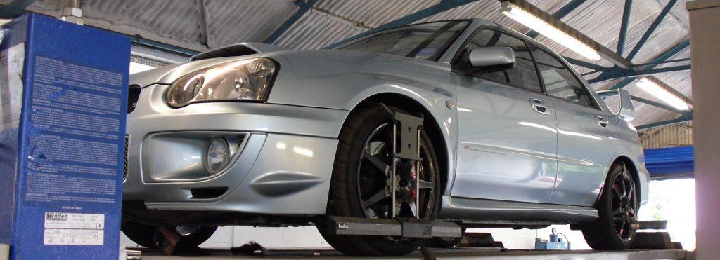 Subaru service lift