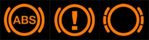 common car warning lights